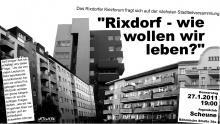 Flugblatt zur Kiezversammlung des Rixdorfer Kiezforums am 27.01.2011